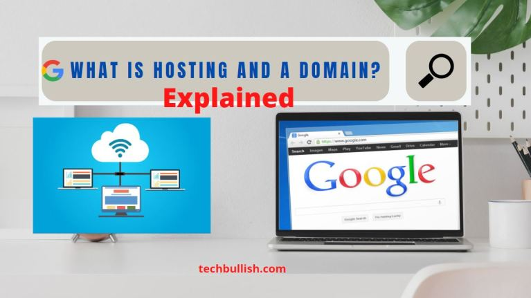 what is hosting and a domain