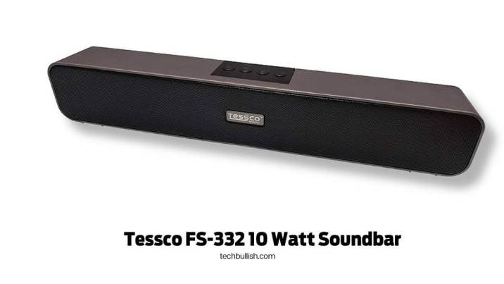 Tessco FS-332 10 Watt Soundbar under 1500