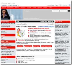 Comodo™ Free Firewall Software Download_1195867656302
