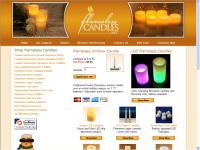 Be safe, use a flameless candle!