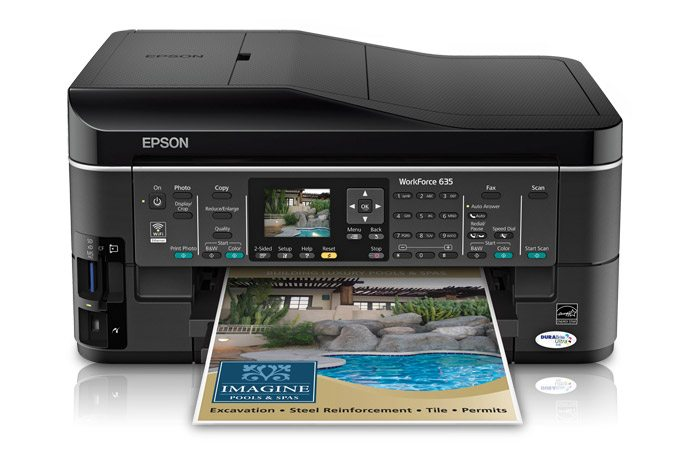 Review: Epson Workforce 635 All-In-One Printer
