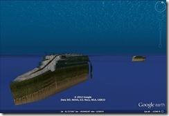 Images of the RMS Titanic hit Google Earth [video]