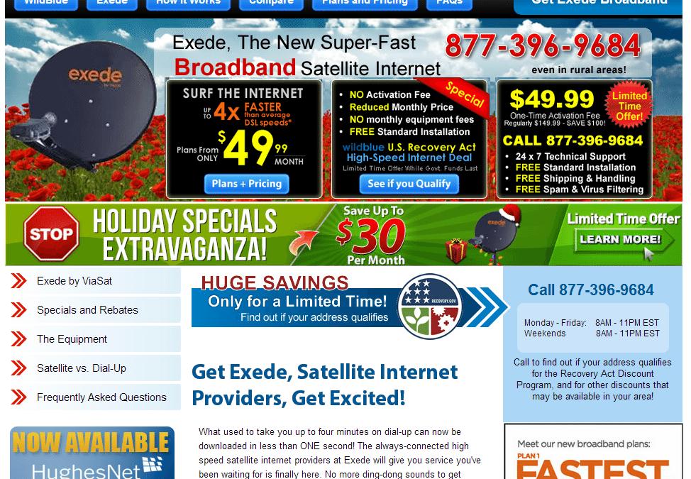 Site Highlight:  SatelliteBroadbandISP.com