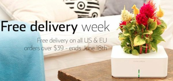 Free Delivery Week