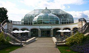 Main entrance to Phipps Conservatory & Botanic...