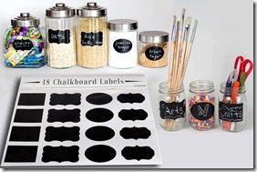 Hands On: 48 Premium Chalkboard Labels