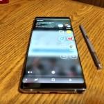 Hands On: Samsung Note8 For Verizon Wireless