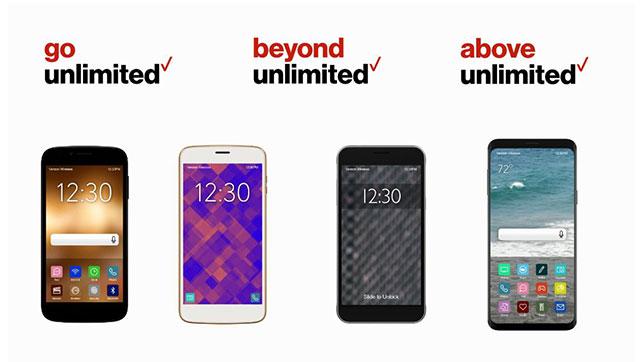 Verizon Unlimited Mix & Match Plans