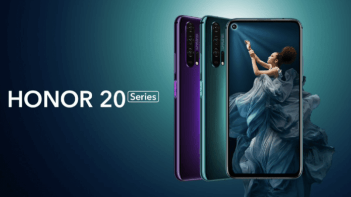 honor 20 specifications