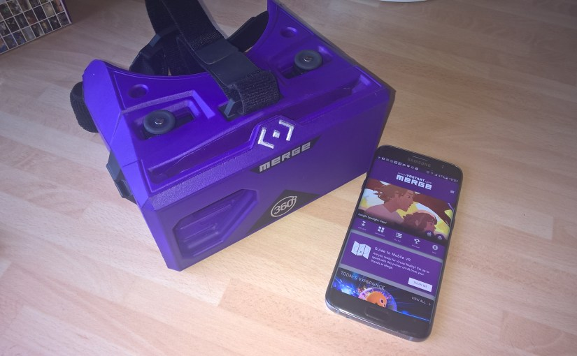 #VirtualReality – @MergeVR unboxing and review. #VR #MergeVR