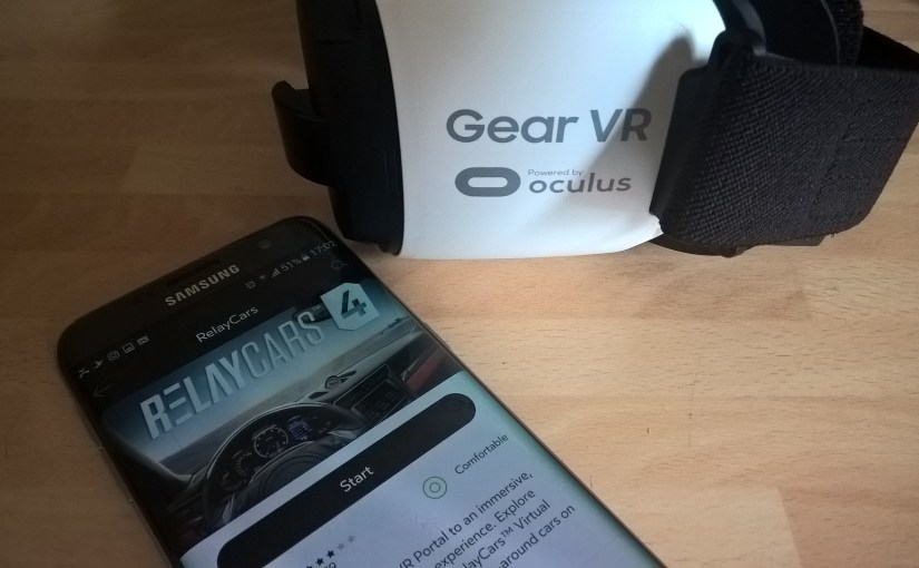 Step into the driving seat with #RelayCars #VirtualReality app. #Oculus #GearVR