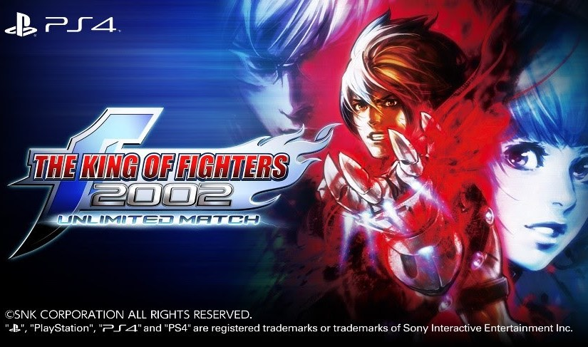 Tournament favourite THE KING OF FIGHTERS 2002 UNLIMITED MATCH strikes PlayStation 4 digitally today #Gaming