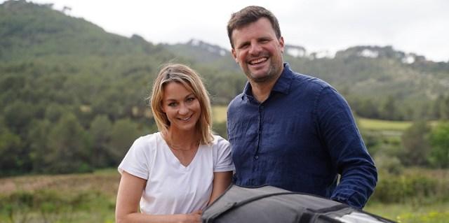 Lisa Redden and Olivier Vander Elst of GreenAer.