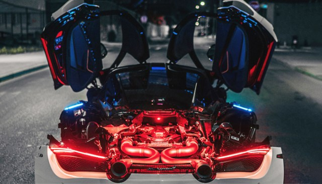 The new McLaren 720S includes 3D printed parts
