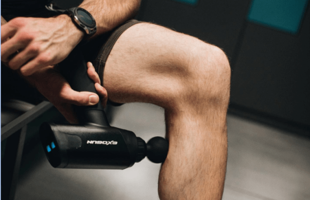 exogun being used on leg