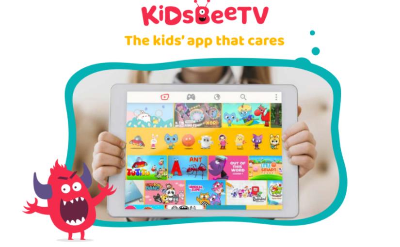 KidsBeeTV: a new brand on kids'  streaming apps #edtech #streaming