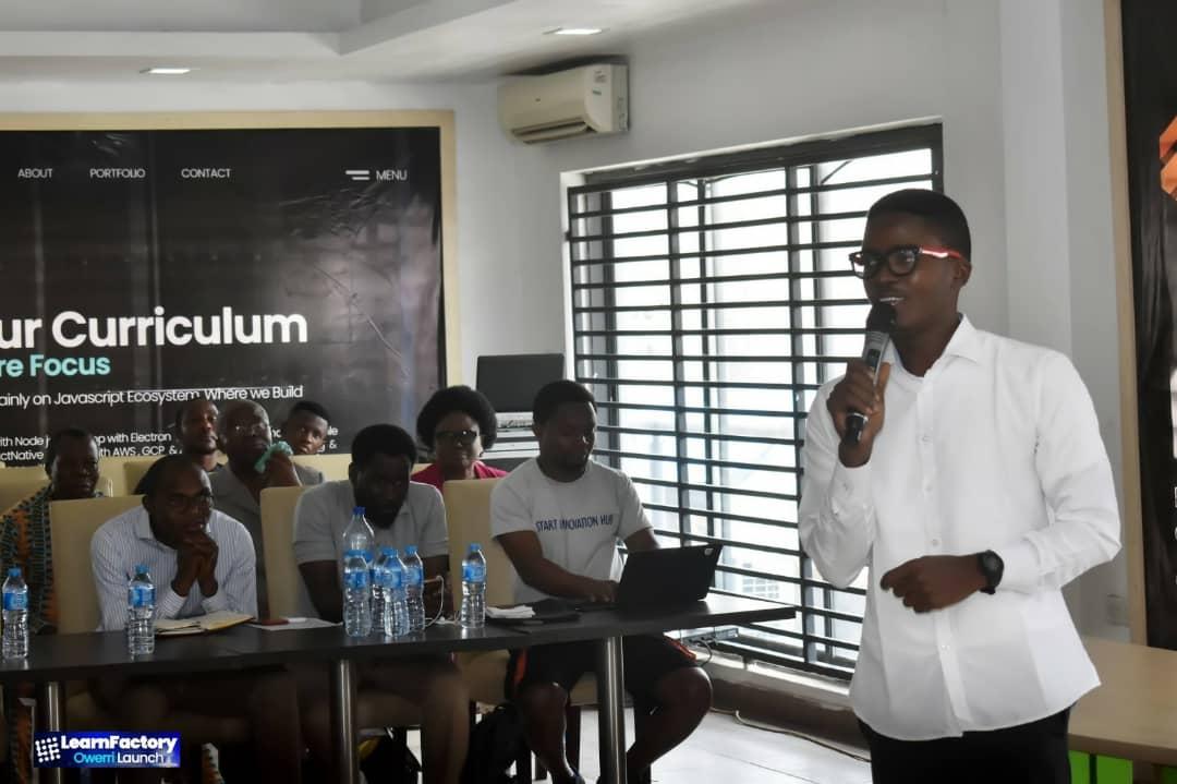 My Life in Tech: Minting devs fresh off Chibueze Ukaegbus LearnFactory | TechCabal
