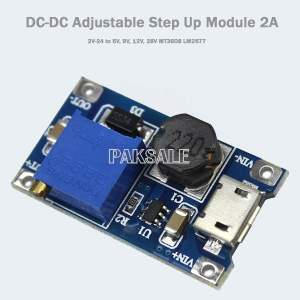 Micro USB Step Up Module Converter 2A Image