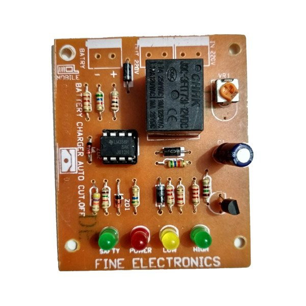 Battery Charging Module Overcharging Protection