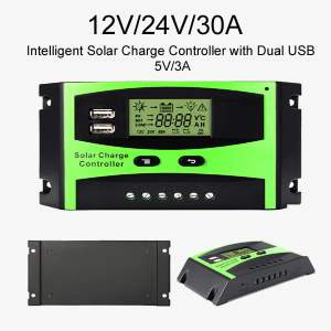 solar charge controller pwm 30a