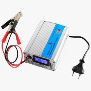 LCD 12V Battery Charger