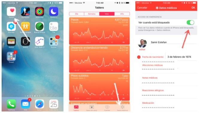 como-crear-tarjeta-medica-iphone