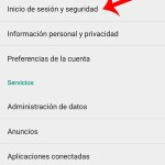 Error de servidor Google Play: Revise el inicio de sesión
