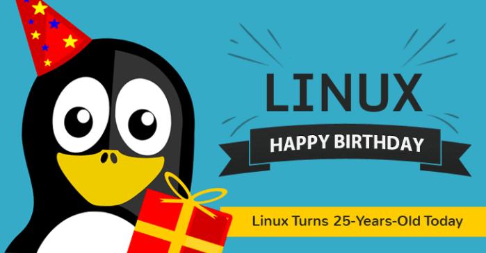 Feliz Cumpleaños #25 Linux!! (y gracias por cambiar el mundo)