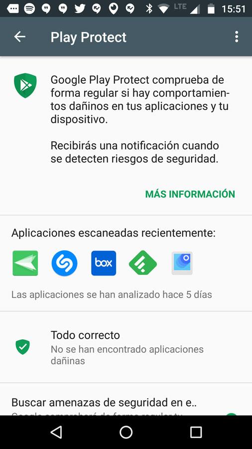 ¿Cómo funciona Google Play Protect?