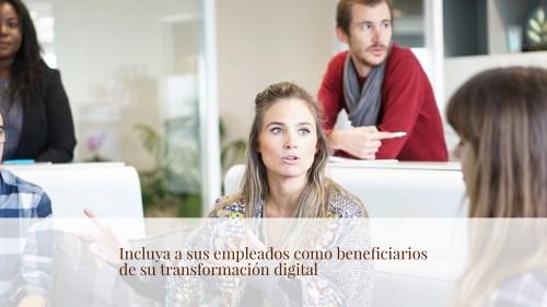 transformación digital empleados