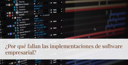 Implementación de software empresarial