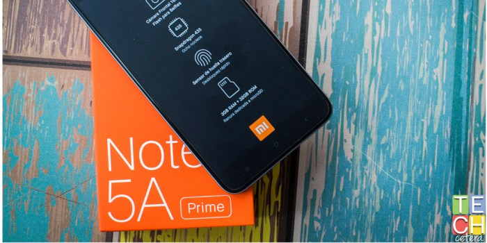 Suben las apuestas en la Gama Media. El Xiaomi Redmi Note 5A Prime