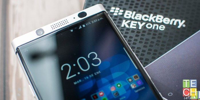 Blackberry KeyOne ¿Amor a segunda vista?