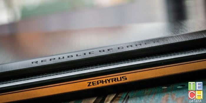 El ASUS ROG Zephyrus, potencia pura!