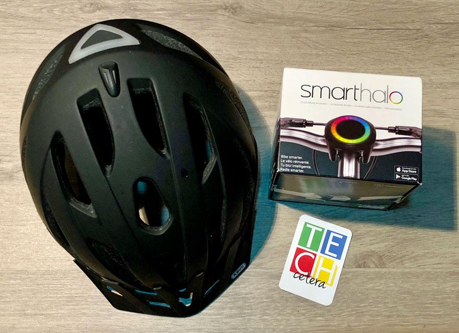 #SmartHalo: uno de los #Gadgets más interesantes para los que andan en bici! - TECHcetera