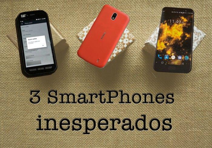 No esperábamos estos 3 SmartPhones pero… llegaron!