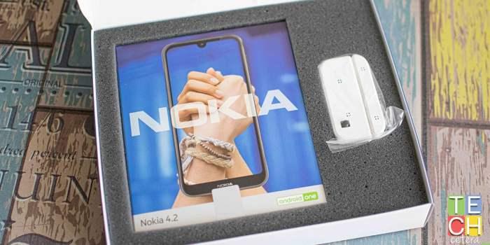 Caja del nuevo Nokia 4.2