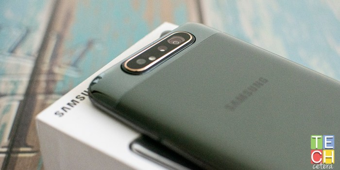 Detengan todo, que llegó ¡el Samsung Galaxy A80!