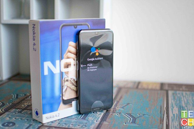 Nokia 4.2 fuera de su empaque