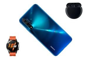 ¡El Huawei nova 5T llega a Colombia y no viene solo!