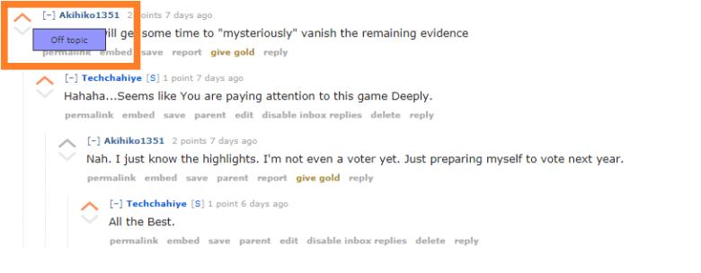Reddit Downvote Button