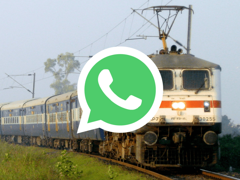 Northern Railway Monitors the Cleanliness of Trains Via WhatsApp Group