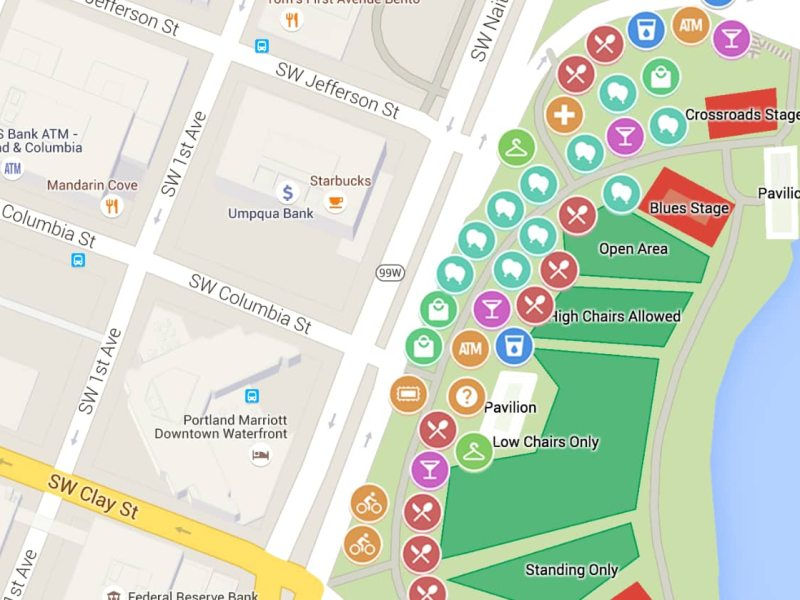 Google Maps App add Native Message Option