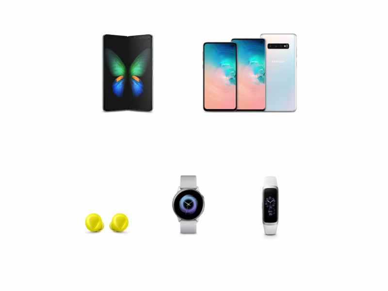 Complete List of Device launched at Galaxy Unpacked Event 2019