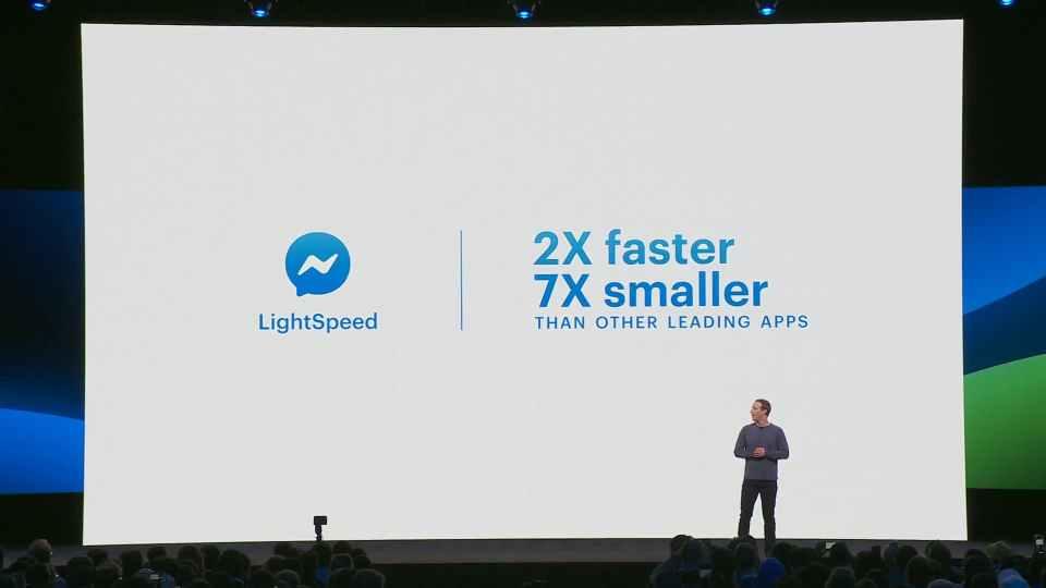 Upcoming Facebook Messenger LightSpeed Technology