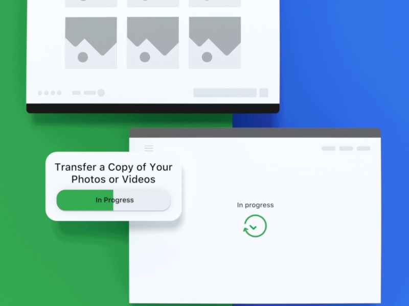 Facebook Photo Transfer Tool