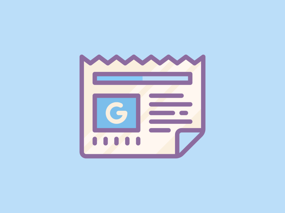Google News COVID 19 Section