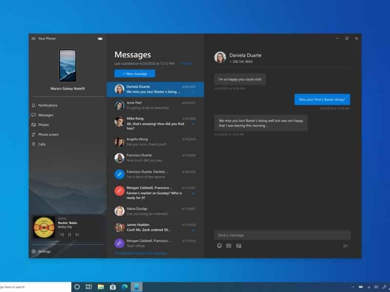 Now Control Smartphone Audio Playback via Windows 10 PC