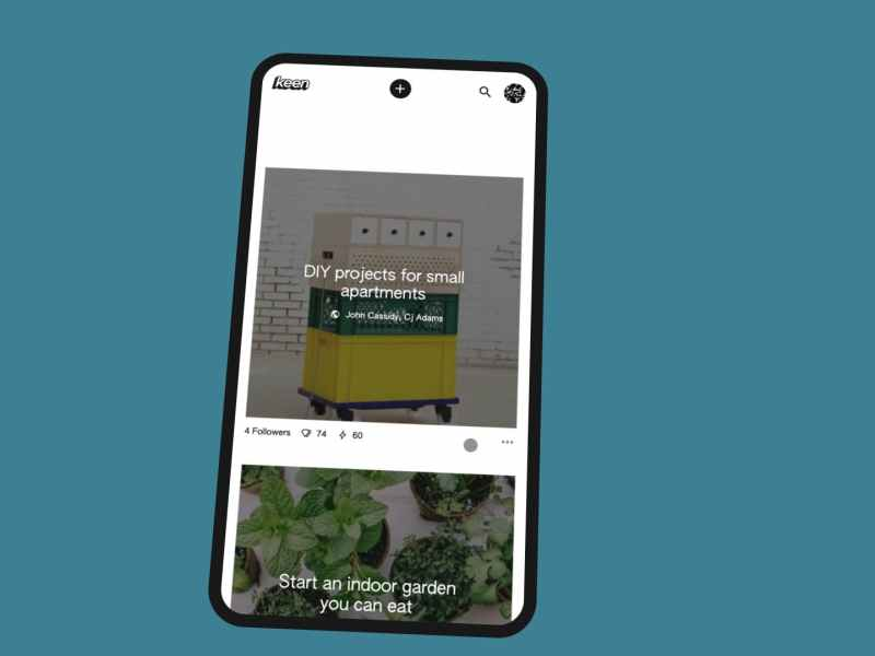 Meet Keen an AI Powered Pinterest Alternative