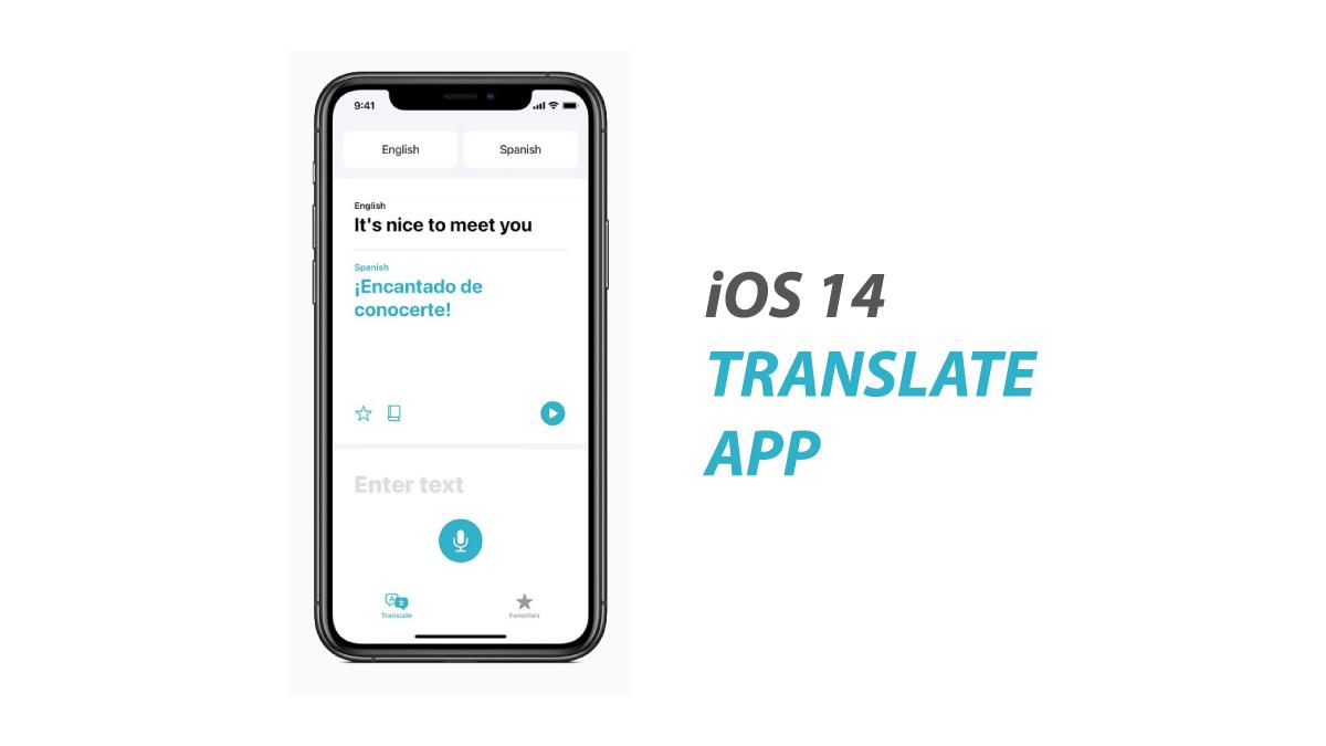 iOS 14 Translate App